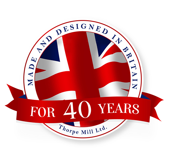 Thorpe Mill 40 years